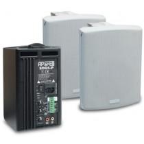 "Apart SDQ5P-BL Active loudspeakerset 5"", 2 x 30 watts, black"