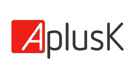 AplusK logo