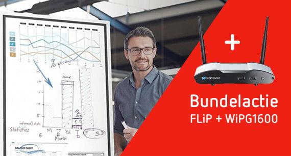 Samsung FLiP en WePresent bundelactie AplusK