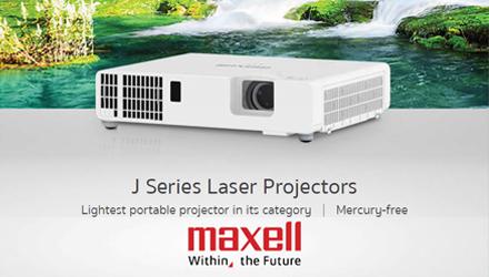 Nieuw: Maxell J serie (laser)