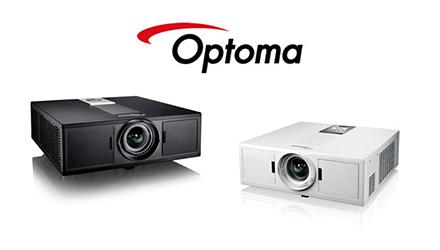 Nieuwe Optoma laserprojectoren: ZH500T, ZU500T, en ZW500T
