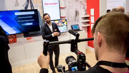 Sharp ISE 2018 videoverslag