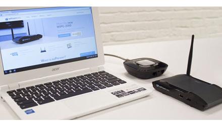 WePresent actiebundel met de WP2000s, SharePod & PresentSence